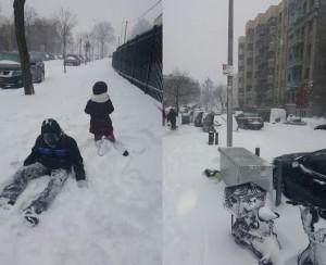 Imágenes tomadas en un vecindario dominicano en El Bronx, NY.