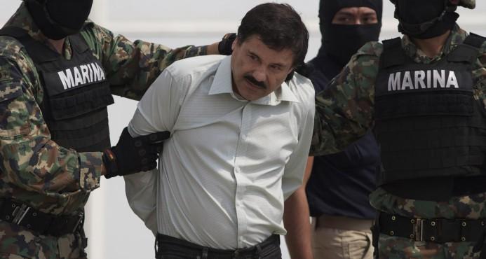 "Presidente México anuncia recapturan al narcotraficante ""El Chapo Guzmán"""