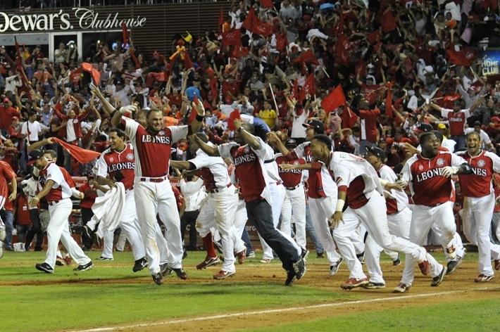 Leones del Escogido ganan campeonato de beisbol dominicano