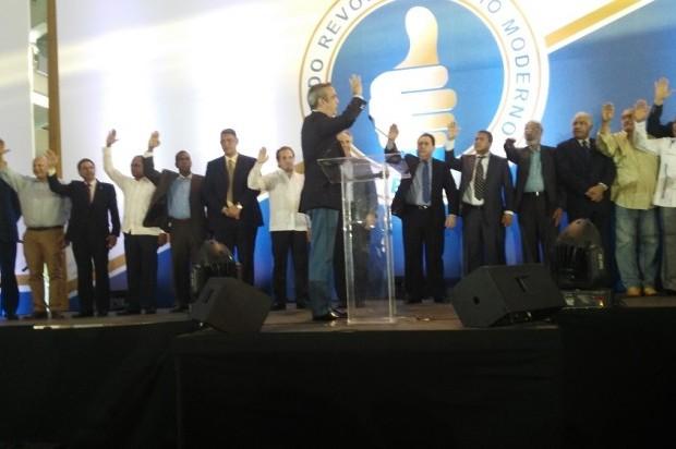 PRM celebró Convención de Delegados; presenta sus candidatos a senadores