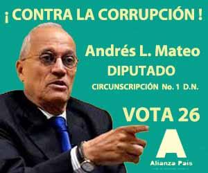 Andres L. Mateo – Diputado