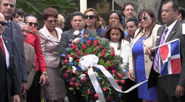 PUERTO RICO: Depositan ofrenda en busto de Duate