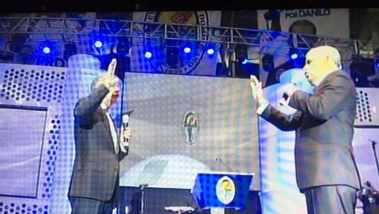 El PRD proclamó este domingo a Danilo Medina como su candidato