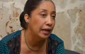 Guadalupe Valdez pide candidatos someterse a debates públicos