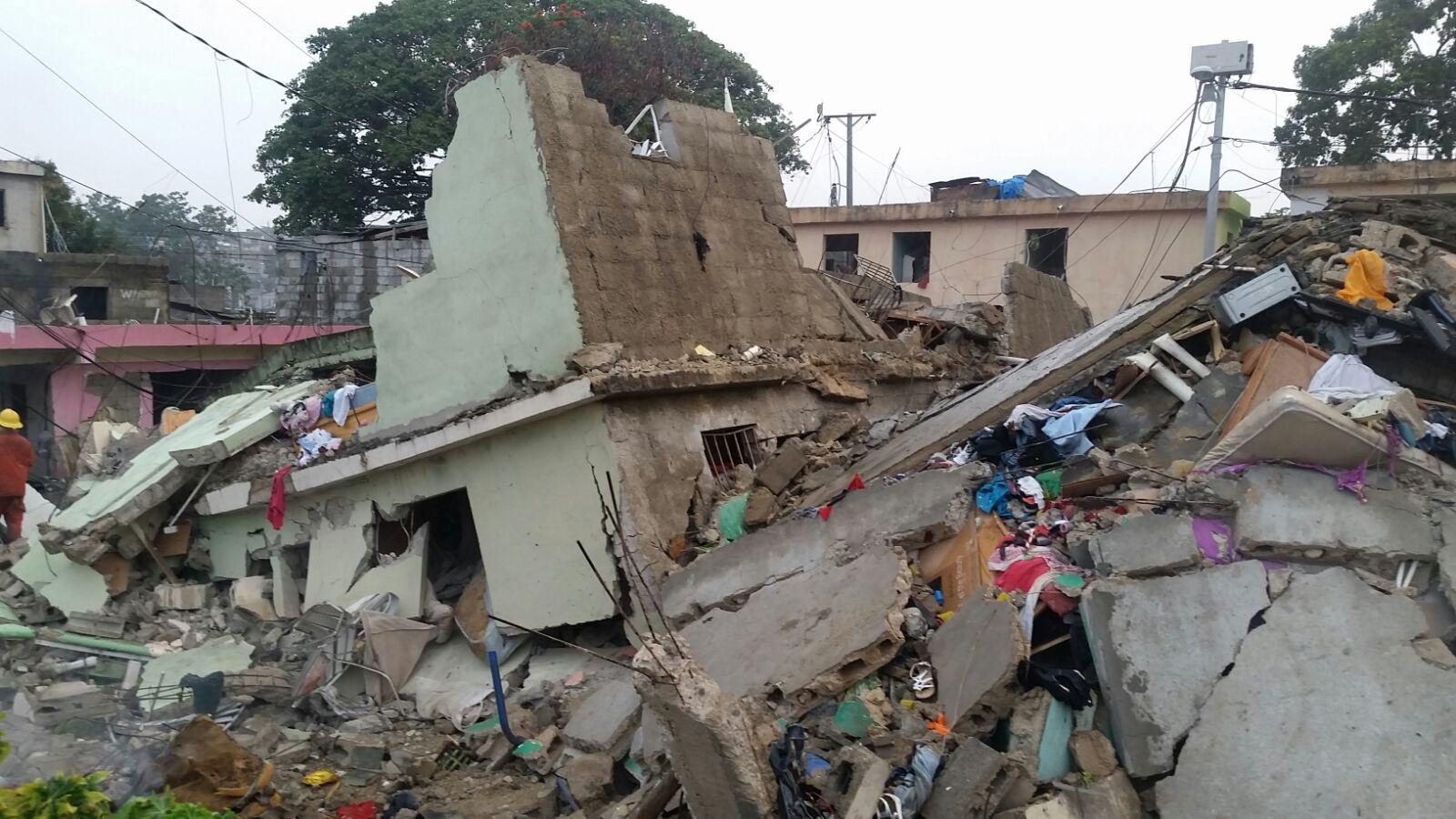 Asciende a 40 cifra de lesionados por explosión en barrio de SD