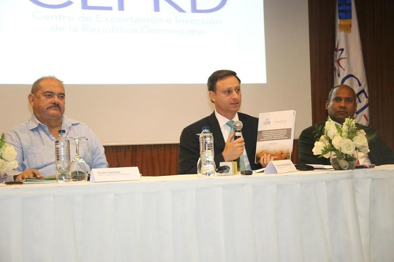 CEI-RD presenta estudio sobre productos RD en EU