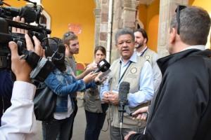 Leonel en Bolivia