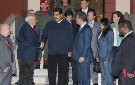 Leonel y Ernesto Samper se reúnen con Nicolás Maduro