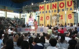 Tras proclamación, Minou propone transformación del Estado