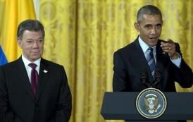 Obama anuncia $450 millones para Colombia