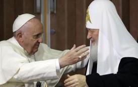 Papa Francisco y Patriarca Ruso Kiril se reunen en Cuba