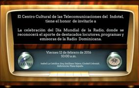 Indotel reconoce a productores y locutores en Día Mundial de la Radio