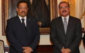 Medina coordina con presidente JCE entrega de recursos para campaña