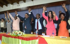 Coalición proclama a Radhamès Castro como candidato alcalde