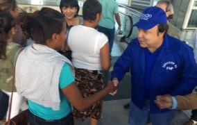 Vinicio Castillo dice contactará 300,000 votantes personalmente