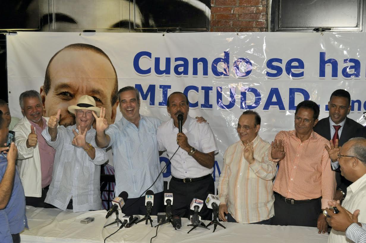 """PRM presenta 160 candidaturas seleccionadas por """"consenso"""", entre ellas la de José Montas"""