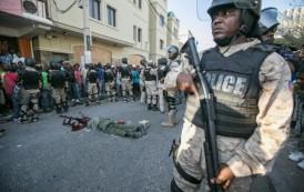 Exmilitares toman calles capital haitiana por crisis, hay un muerto