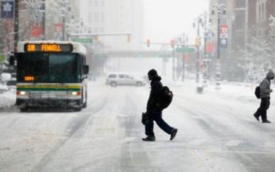 La previsión meteorológica indica que la temperatura que se espera para la mañana del domingo es de -15 grados centígrados, con una sensación térmica de -24 grados.