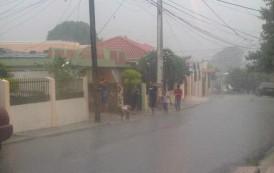 Vaguada sobre Haití provocará lluvias débiles y dispersas sobre RD