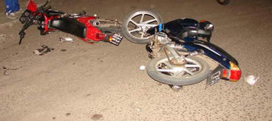 Choque entre dos motocicletas deja tres personas muertas y una herida