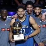 Karl-Anthony Towns gana concurso habilidades NBA