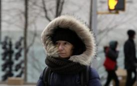 """NY """"tirita"""" por ola de frío polar"""