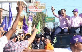 PLD proclama a Abel Martínez como candidato alcalde de Santiago
