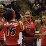 Selección voleibol estrena el alberque olímpico