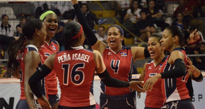 RD y PR avanzan final de la Copa Panam de Voleibol