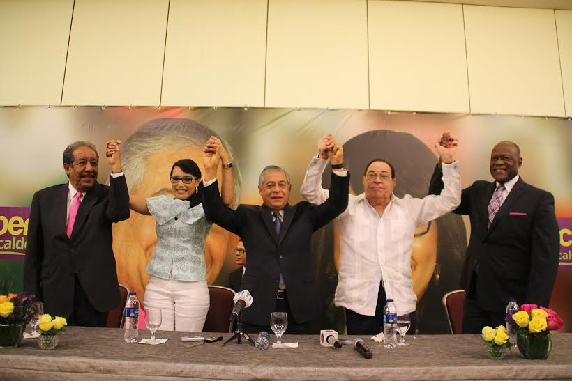 Exalcaldes del PRD en el Distrito Nacional respaldan a Salcedo