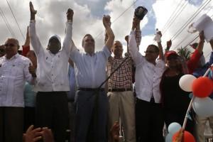 Abinader y Candidatos Santiago Rodríguez