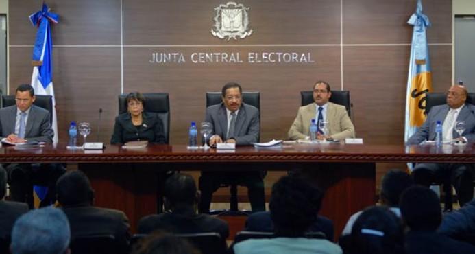 La JCE anuncia nuevas medidas paragarantizar éxito del proceso