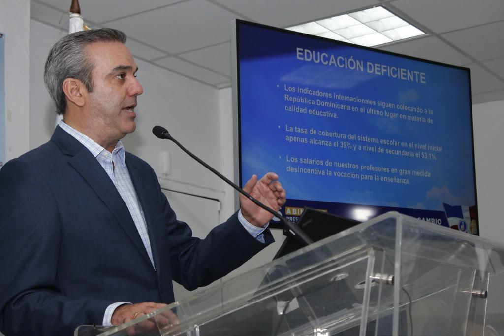 Luis Abinader expone plan acción para abordar principales necesidades de RD