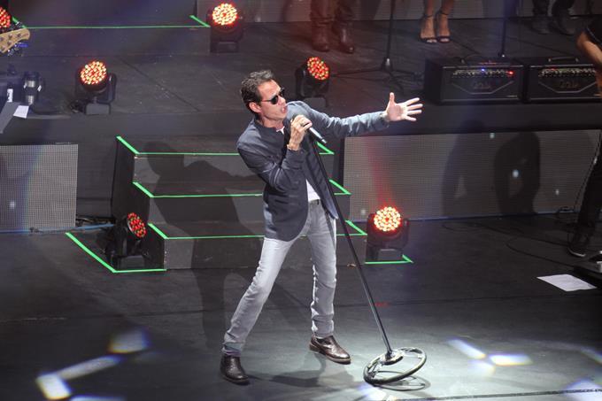 LA ROMANA: Marc Anthony deleita a un exclusivo público en anfiteatro