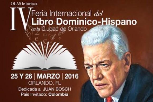 ORLANDO: Anuncian Feria del Libro Dominicano