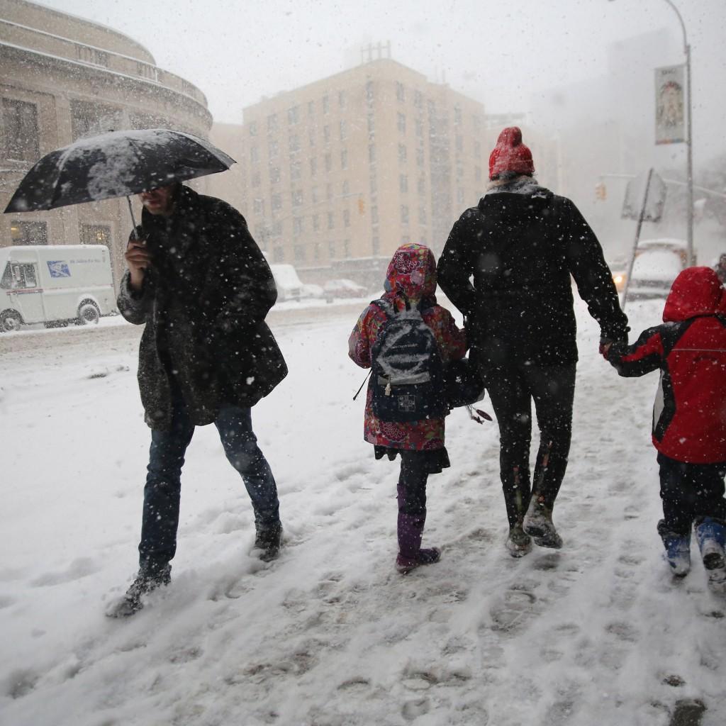 Anuncian nieve para el primer día de la primavera