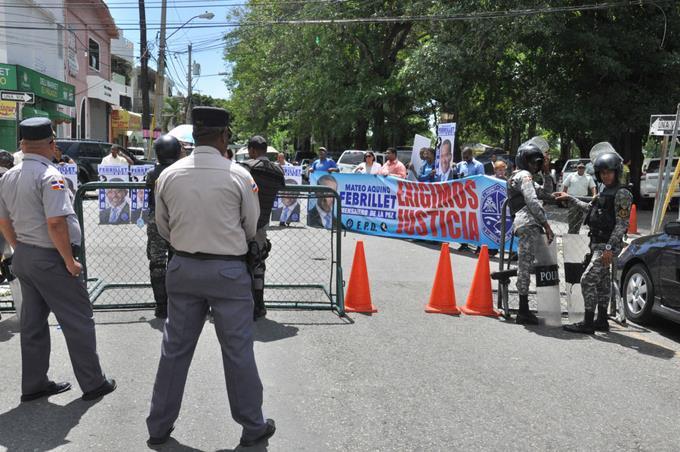 Inicia conocimiento coerción contra Blas Peralta y los otros imputados