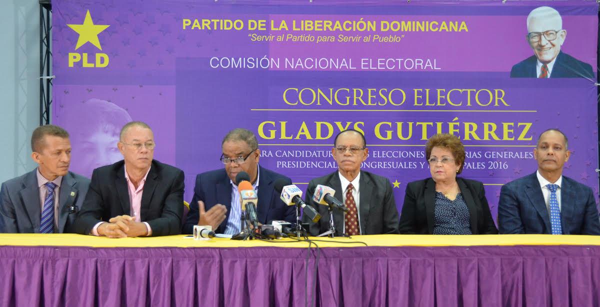 PLD anuncia convención delegados para lunes y martes  próximos
