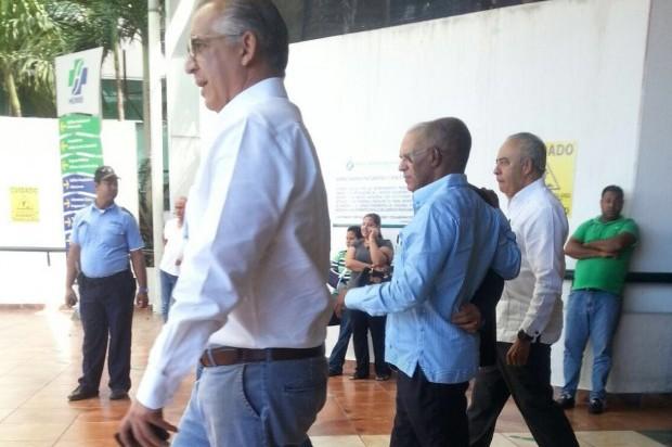 El Presidente interino Haití visita Santiago; le hacen chequeo médico