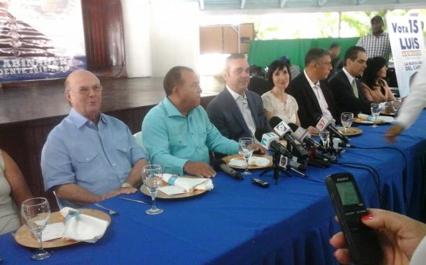 Luis Abinader opina la alta dirigencia del PLD le teme a la transparencia