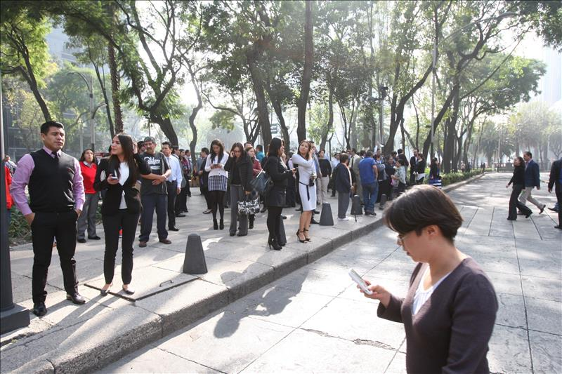 Terremoto 6 grados sacude  México