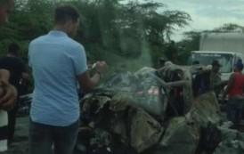 Cinco muertos y dos heridos en carretera Baní-Azua