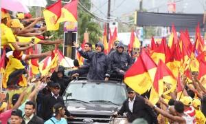 Danilo Medina en Bonao