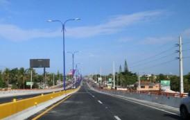 Danilo Medina inauguró el elevado de entrada al Multimodal Caucedo