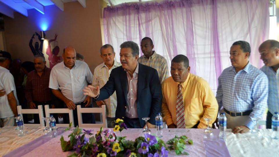 SAMANA: Leonel dice PLD exhibela mejor obra de gobierno en la RD