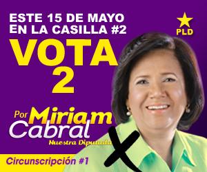 Miriam Cabral – Vota 2