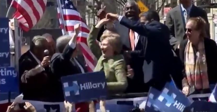 Hillary Clinton baila merengue y bachata con dominicanos en NY