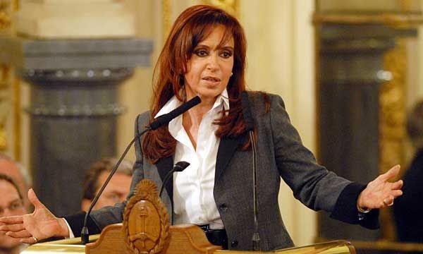 ARGENTINA: Senado autoriza requisa de residencias de Kirchner