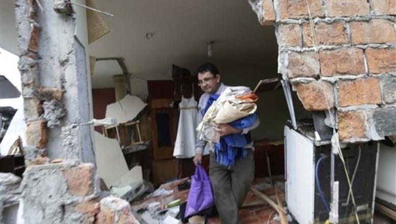 ECUADOR: Asciende a 350 muertos y  2,608 heridos a causa de terremoto