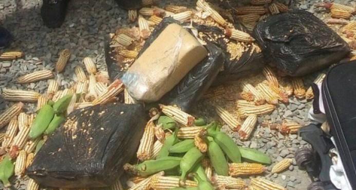 AZUA: Detienen sargento mayor PN transportaba 60 libras de marihuana